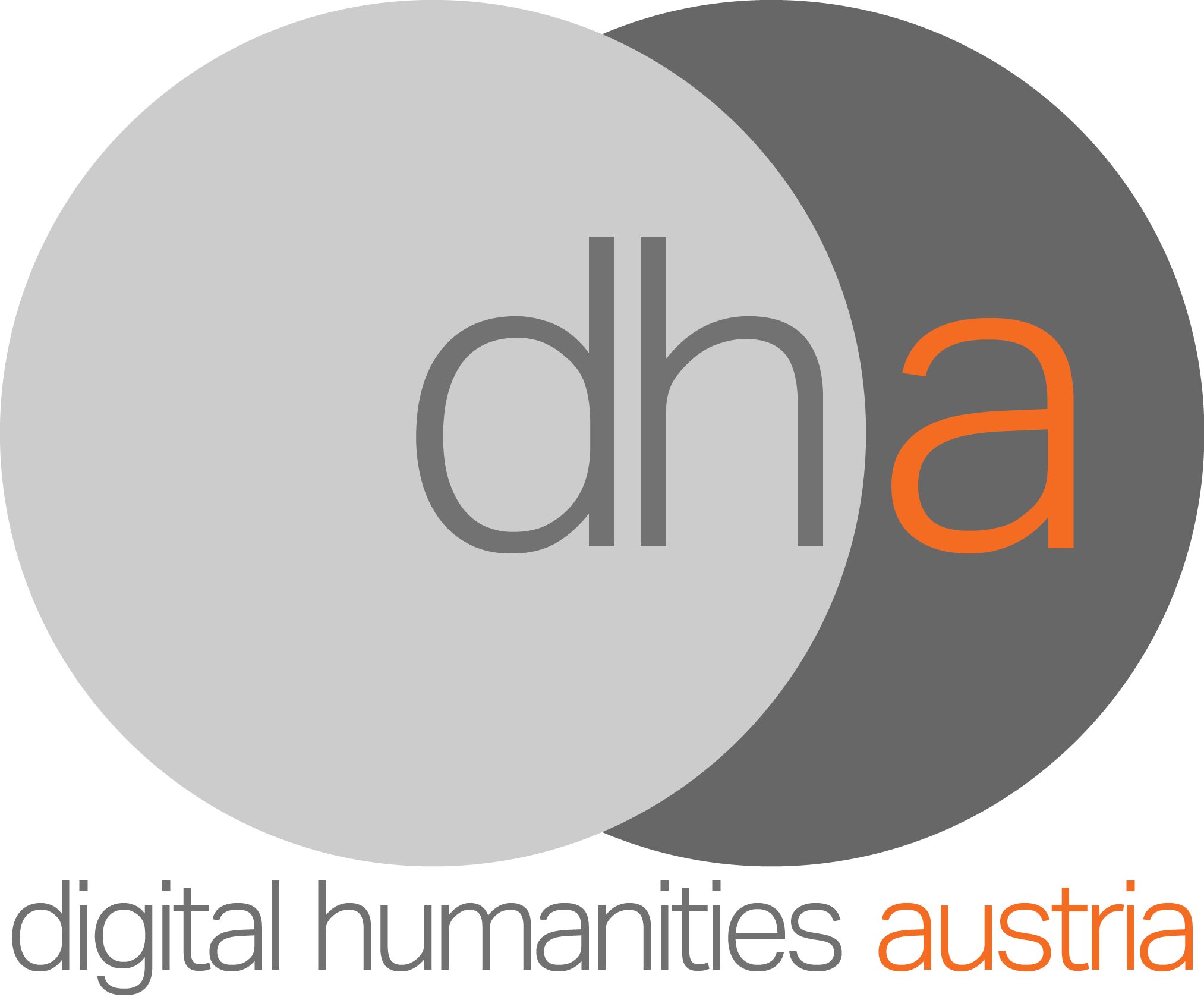 Logo digital humanities austria